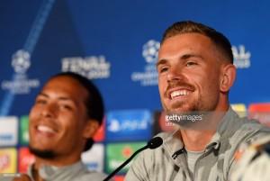 Winning the European Cup is in Liverpool's DNA, says Jordan Henderson