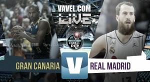 Resultado Herbalife Gran Canaria - Real Madrid en Copa del Rey 2016 (81-85)