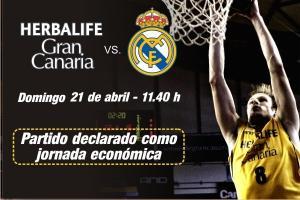 El partido entre Herbalife y Real Madrid declarado 'Jornada Económica'
