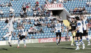 Sergio Sanz evita la goleada del Hércules