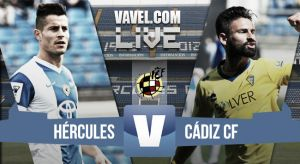 Resultado Hércules - Cádiz en playoffs Segunda B 2015 (2-1)