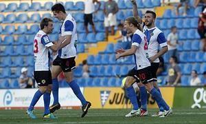 Hércules - Mallorca: puntuaciones del Hércules, jornada 5