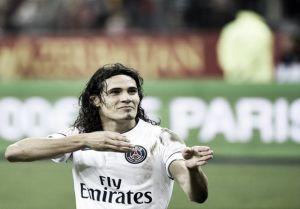 Gol y polémica expulsión de Cavani