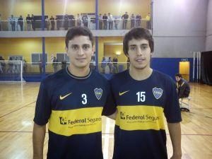 Los hermanos Alamiro y 'Kiki' Vaporaki, últimas incorporaciones de Jumilla