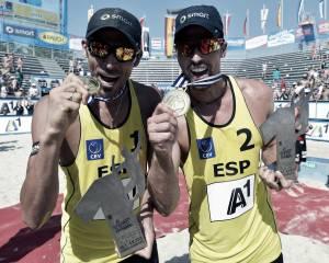 Herrera y Gavira, campeones europeos de vóley playa