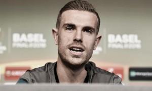 """Jordan Henderson: """"Una final es todo lo que sueñas como futbolista"""""""