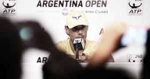 """Rafael Nadal: """"Estoy convencido de que va a ser un muy buen año"""""""