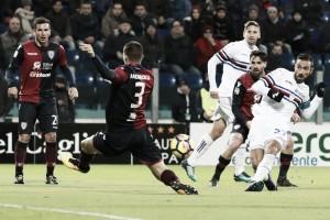 Sampdoria deja escapar los tres puntos