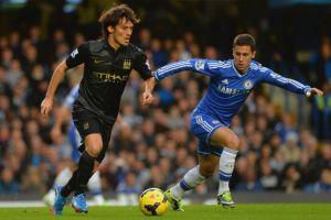 David Silva y Hazard: duelo de Magos en el Etihad