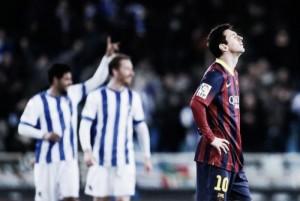El Hombre Dato: los números entre la Real Sociedad y el Barcelona