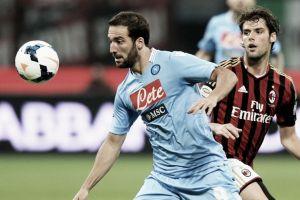 Il Napoli schianta il Milan: terza sconfitta consecutiva per i rossoneri