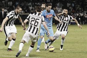 Napoli vs Juventus en vivo y en directo online (1-3)