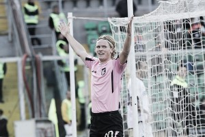 """Palermo, Hiljemark: """"Riparto dall'annata scorsa, posso fare il playmaker"""""""