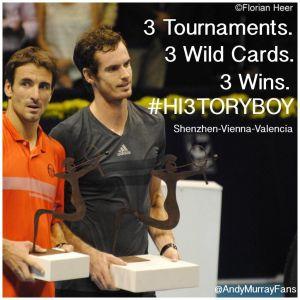 Murray Makes History