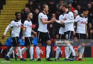 Watford 1-4 Tottenham: Dominant display sees Alli and Kane grab braces