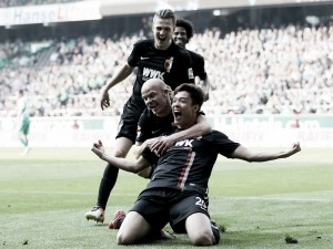 Werder Bremen 1-2 FC Augsburg: Hong helps visitors win battle at the bottom