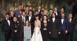 Londres disfruta de la premiere de 'El Hobbit: La Batalla de los Cinco Ejércitos'