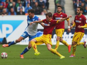 Hoffenheim 1 - 0 Paderborn: Hosts extend unbeaten run to nine-games through Volland