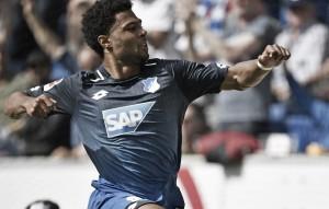 Hoffenheim bate desesperado Hamburgo e chega à sétima rodada invicto