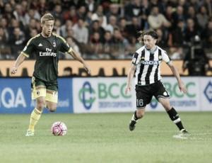 Risultato finale Milan Vs Udinese (1-1): A Niang risponde ad Armero