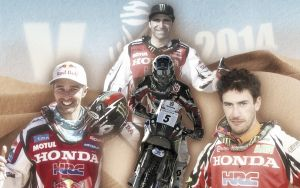 Dakar 2014: el ejército de Honda, a acabar con la hegemonía de KTM en el Dakar