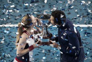 Alizé Cornet et Jo-Wilfried Tsonga offrent la Hopman Cup à la France