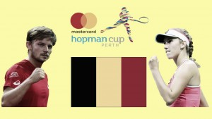 Hopman Cup: David Goffin and Elise Mertens make up the Belgium team