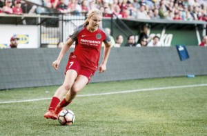 Portland Thorns FC's Lindsey Horan named NWSL Player of the Week