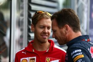 """Horner: """"Vettel possibile in Mercedes nel 2018"""""""