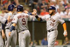 Houston Astros Defeat Cleveland Indians 5-1