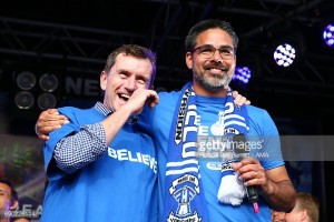 Dean Hoyle rallies fans ahead of Huddersfield's biggest challenge so far