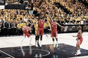 NBA playoffs, i Rockets spengono Utah in gara-4 (87-100)