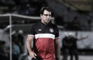 """Martelotte exalta atuação do Santa Cruz apesar da derrota: """"Demos um passo à frente"""""""