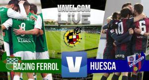 Racing de Ferrol - Huesca en directo online en playoffs Segunda B 2015