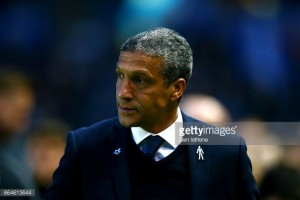 "Chris Hughton admits every victory will be the ""biggest one yet"" as his Brighton side go top of the Championship"