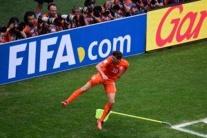 Países Bajos - México: puntuaciones de Países Bajos, octavos de final