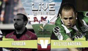 Resultado final: Huracán vs Atlético Nacional por la Copa Libertadores 2016 (0-0)