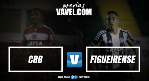 CRB visa manter sequência positiva contra Figueirense para se aproximar do G-4