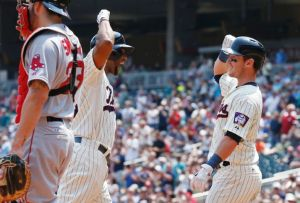 Twins Knock Off Red Sox 6-4 To Complete Sweep