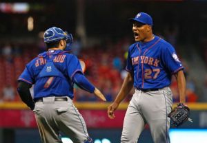 New York Mets Clinch Division With 10-2 Rout Of Cincinnati Reds