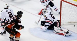Frederik Andersen Dominates In Net As Anaheim Ducks Take Game One Over The Chicago Blackhawks