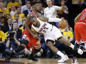 Chicago Bulls Steal Home Court Advantage In Playoff Series With Victory Against Cleveland Cavaliers