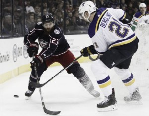 Blue Jackets win streak snapped at 10 with a 2-1 loss