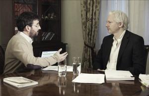 Jordi Évole entrevistará este domingo a Julian Assange