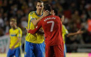 Ibrahimovic - C.Ronaldo, atto secondo