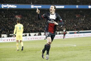 Ibrahimovic mete al PSG en la final de la Coupe de la Ligue