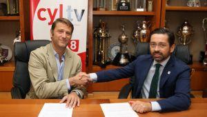 El Valladolid renueva su vínculo con RTVCYL