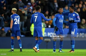 Leicester City 2-0 Fleetwood Town: Foxes cruise into FA Cup fourth round with comfortable victory as VAR shines