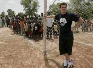 Casillas, de viaje solidario por Mali