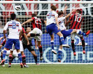 Diretta Milan - Sampdoria, live della partita di Serie A